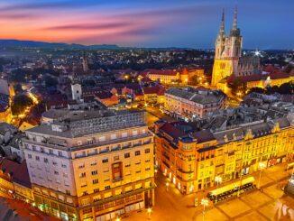 Panorama di Zagabria