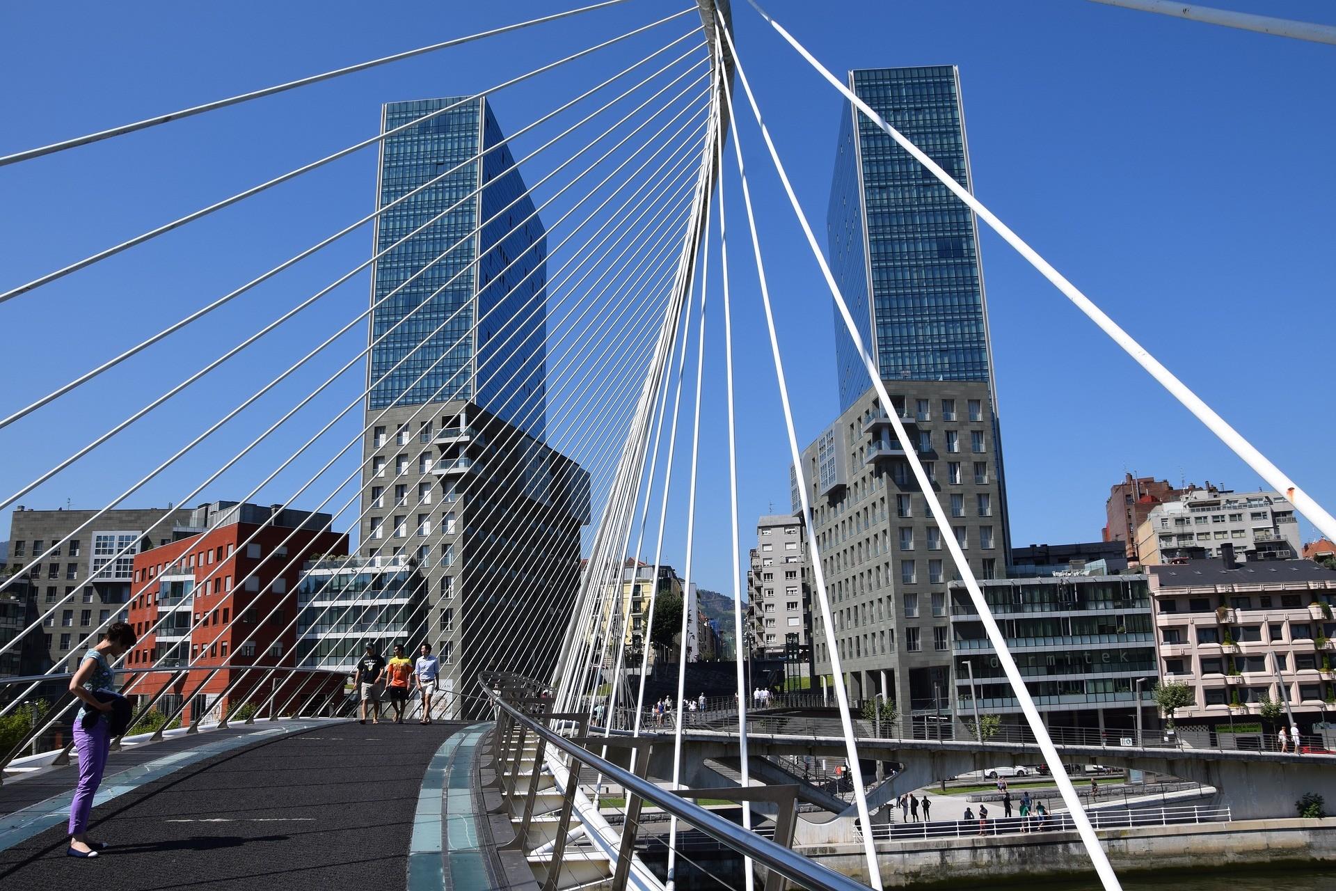 Zubizuri, Bilbao - Foto di Michael Schüller