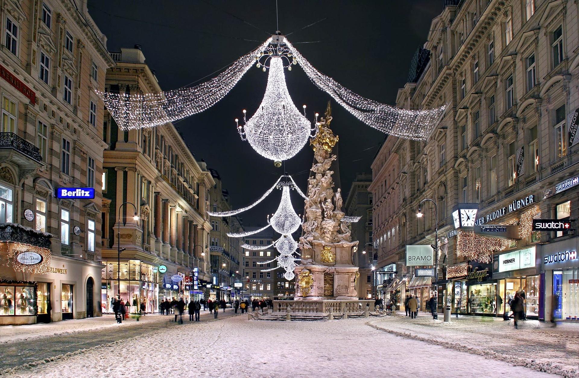 Natale e Vienna - Foto di Julius Silver