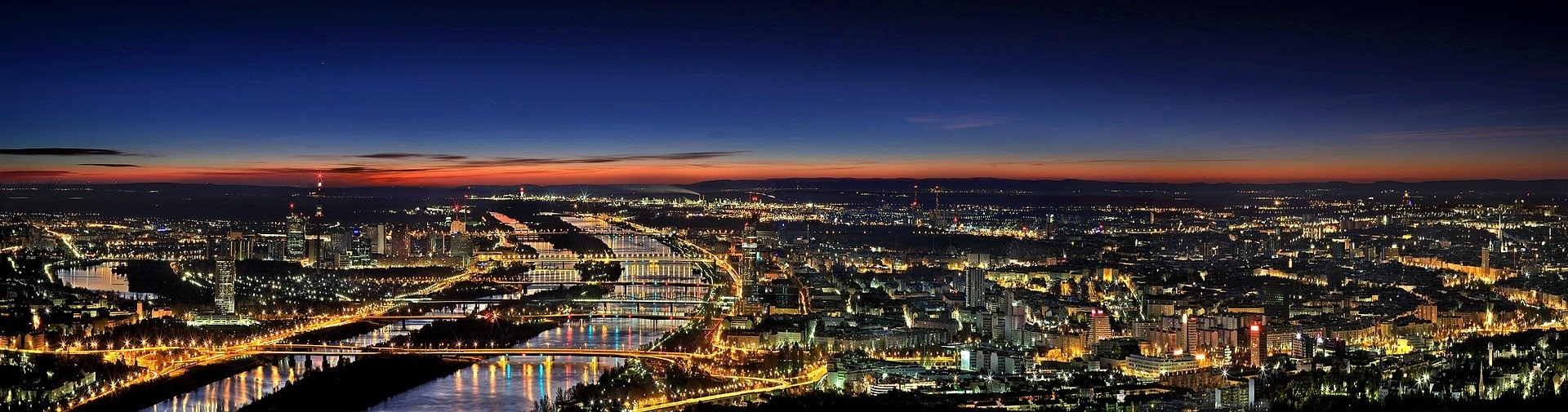 Panorama di Vienna