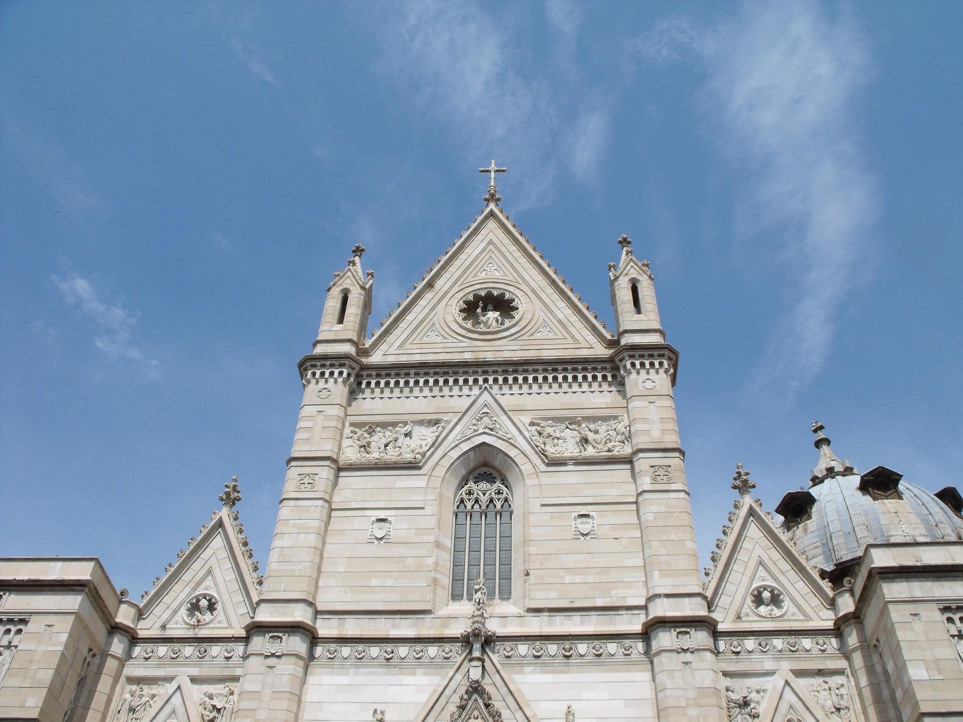 Duomo di Napoli, la facciata - Foto di Fabio Carbone