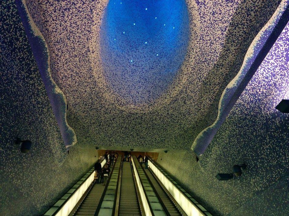 Metropolitana di Napoli, fermata Toledo - ©Foto Anna Bruno