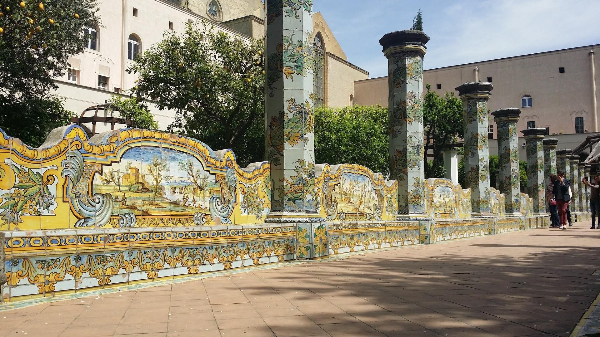 Monastero Santa Chiara, Napoli - Foto di Vincenzo Raucci