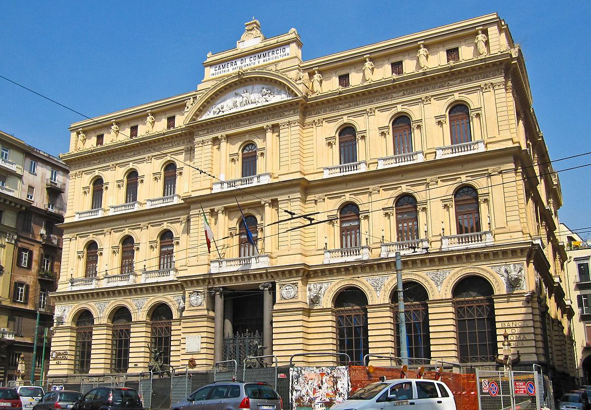 Palazzo della Borsa, Napoli