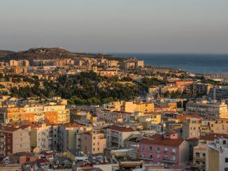 Cagliari, panorama della città