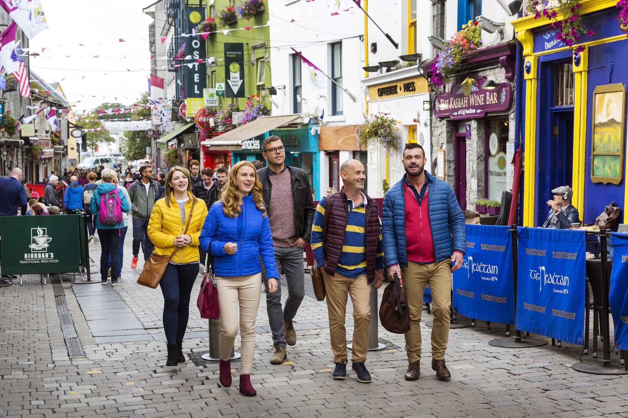 Galway City, Galway, delegates enjoying a city break