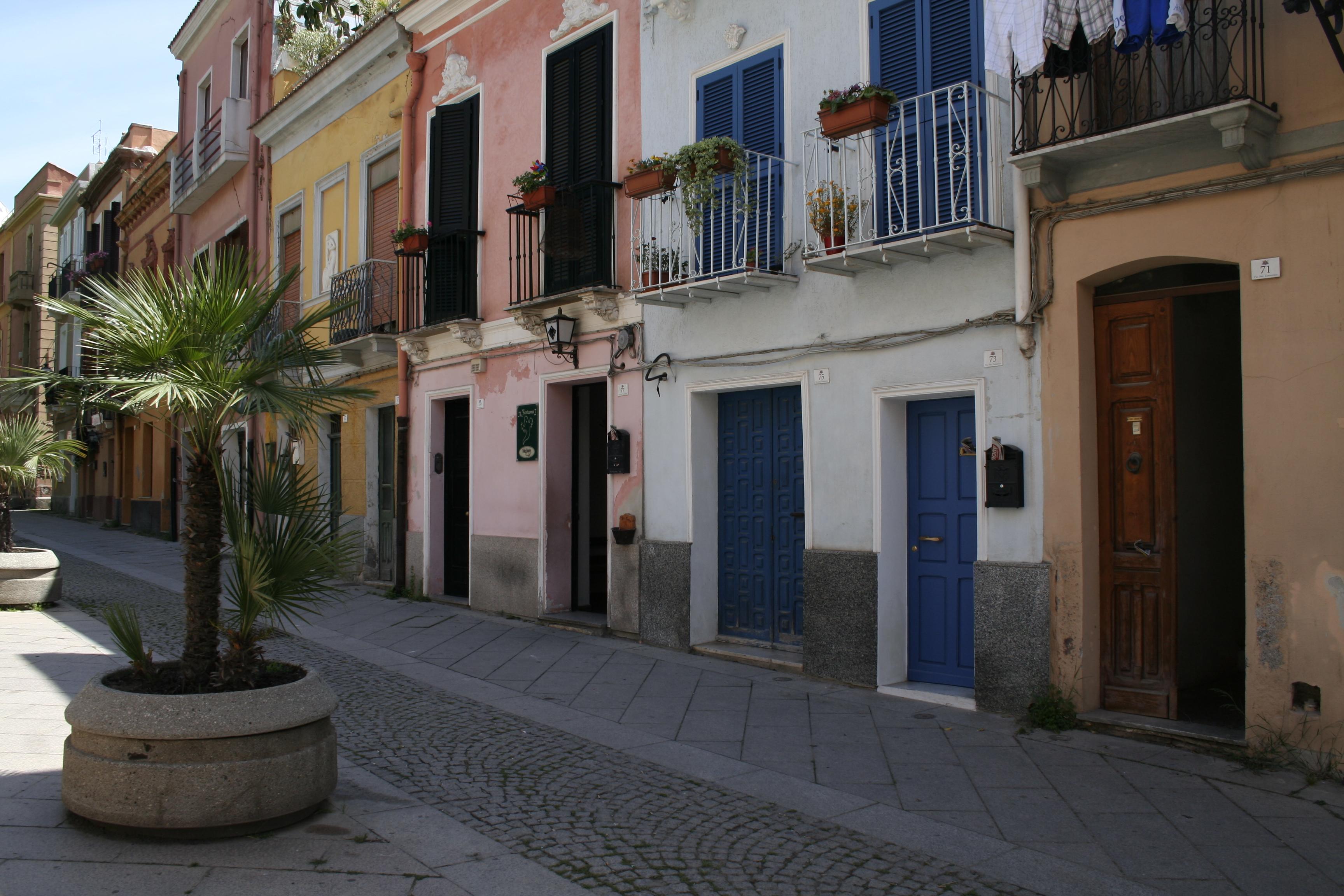 Il quartiere di Villanova, Cagliari ©Foto Anna Bruno