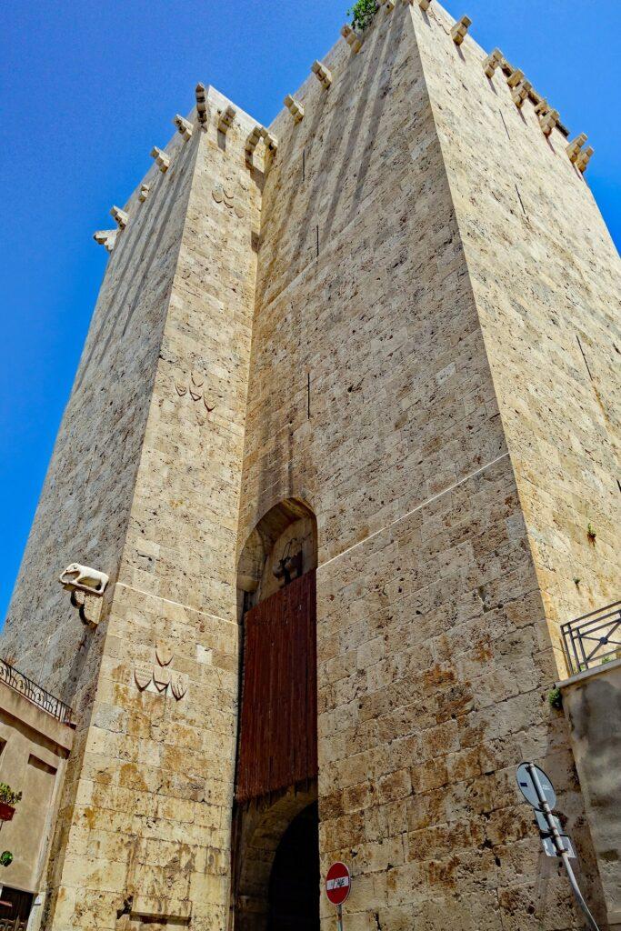 La Torre dell'Elefante a Cagliari