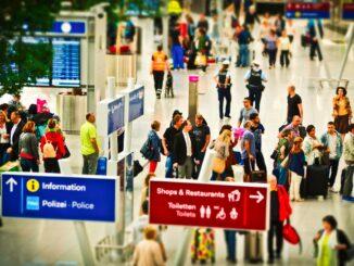 Aeroporto check-in