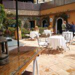 Il terrazzo dell'Hotel Marulivo a Pisciotta Foto Anna Bruno/FullTravel.it