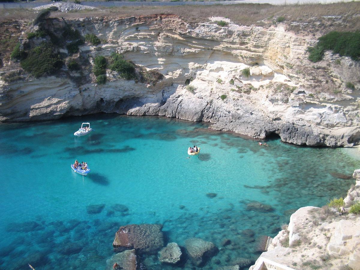 Otranto, Spiaggia di Baia dei Turchi