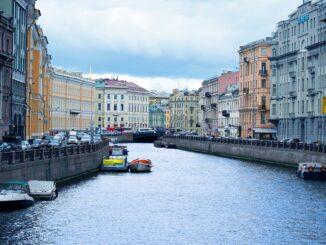 Scorcio di San Pietroburgo - Foto di Q K da Pixabay
