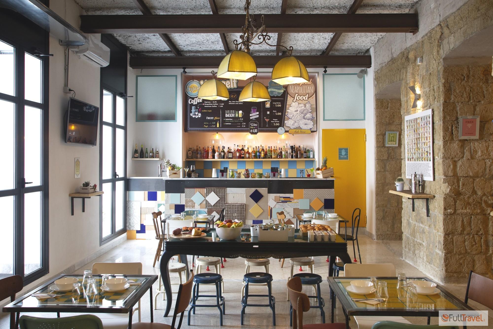 NeapolitanTrips, sala colazione