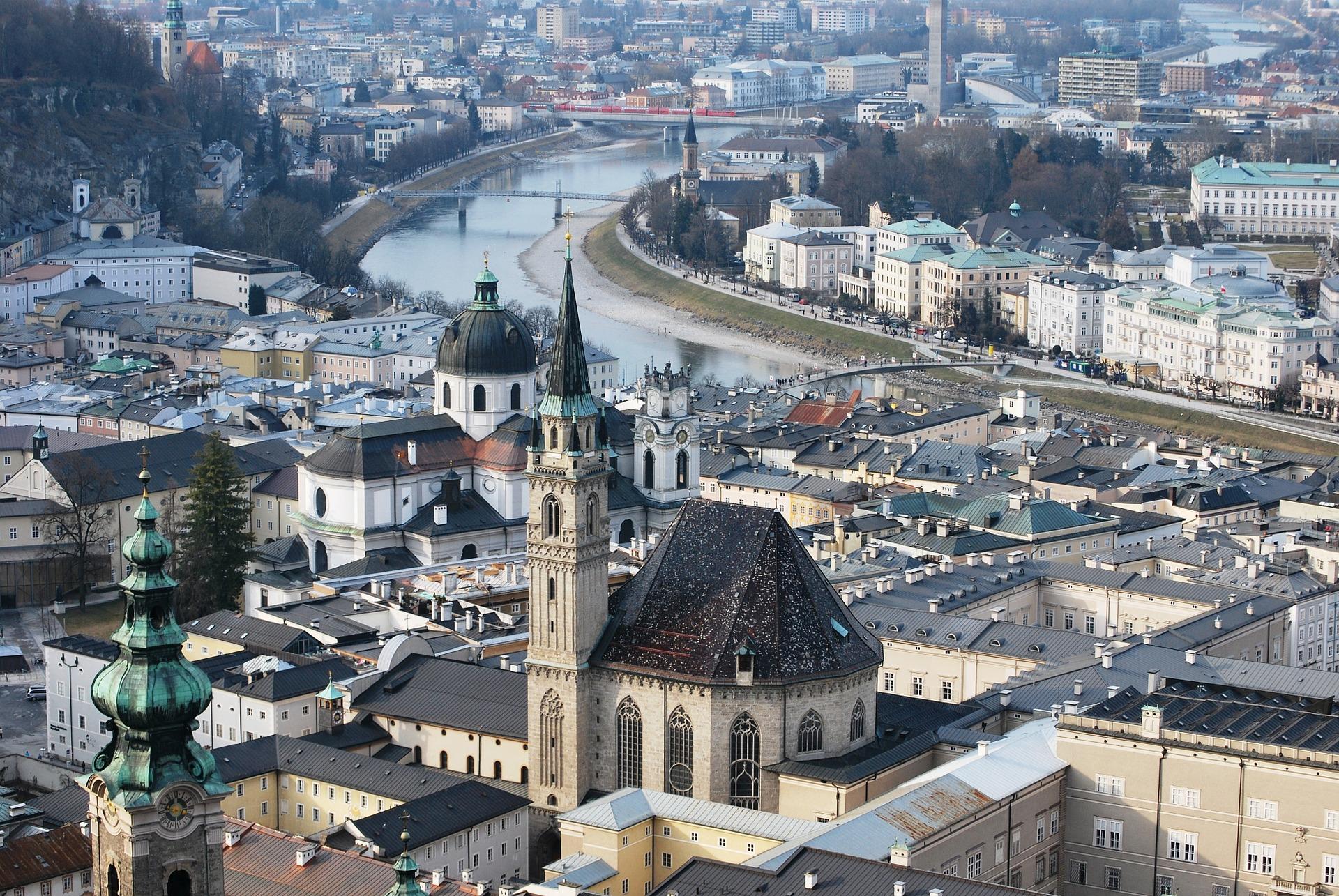 Salisburgo, Austria - Foto di Gaertringen