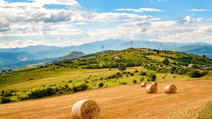 Paesaggio lucano, valle del Melandro ©Foto Massimo Vicinanza/FullTravel.it