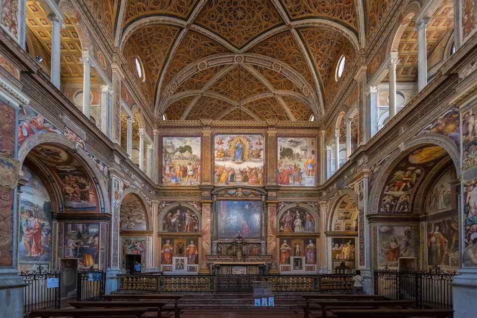 Chiesa di San Maurizio al Monastero, Milano - Foto Museionline.info