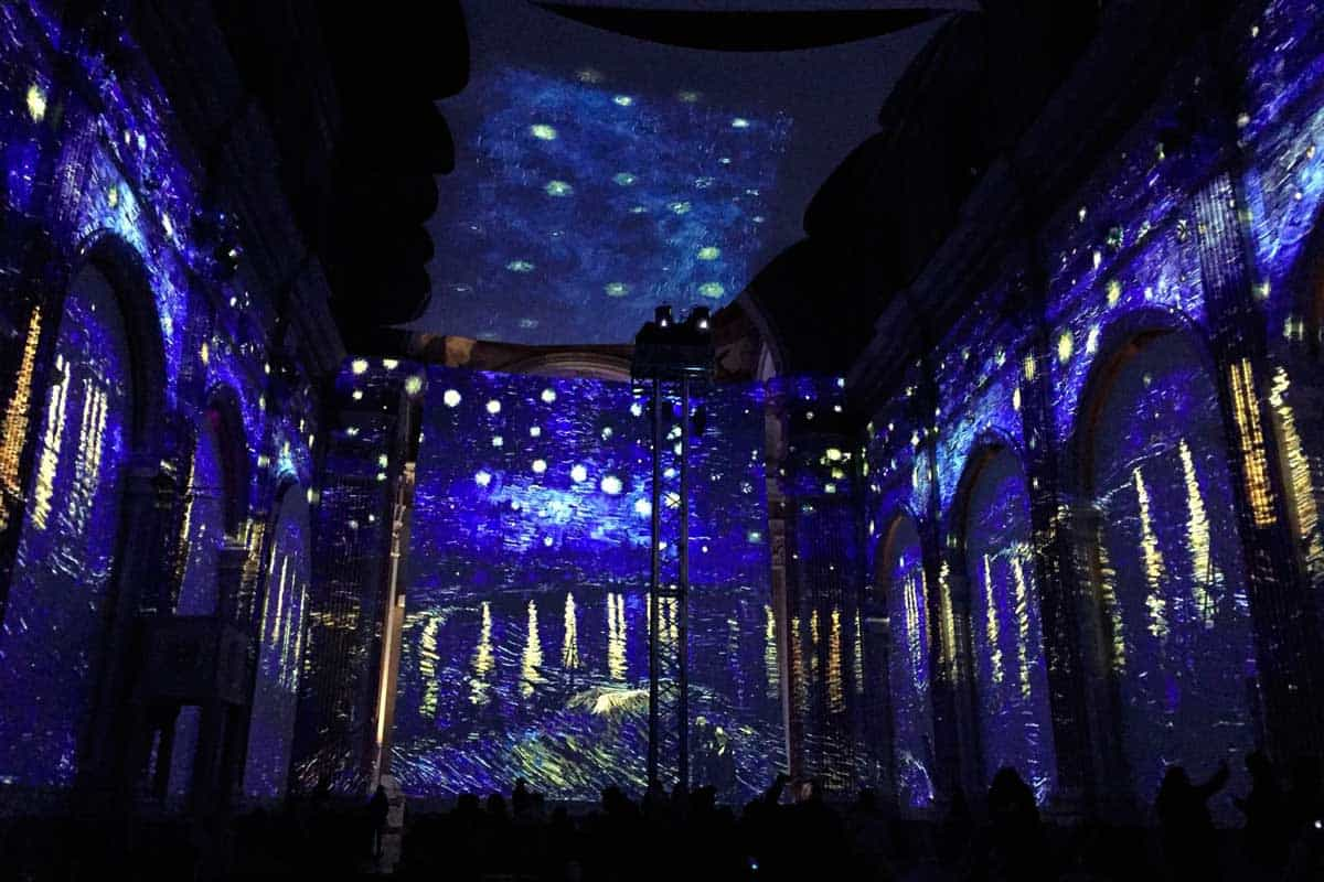 Van Gogh, mostra immersiva a Salerno
