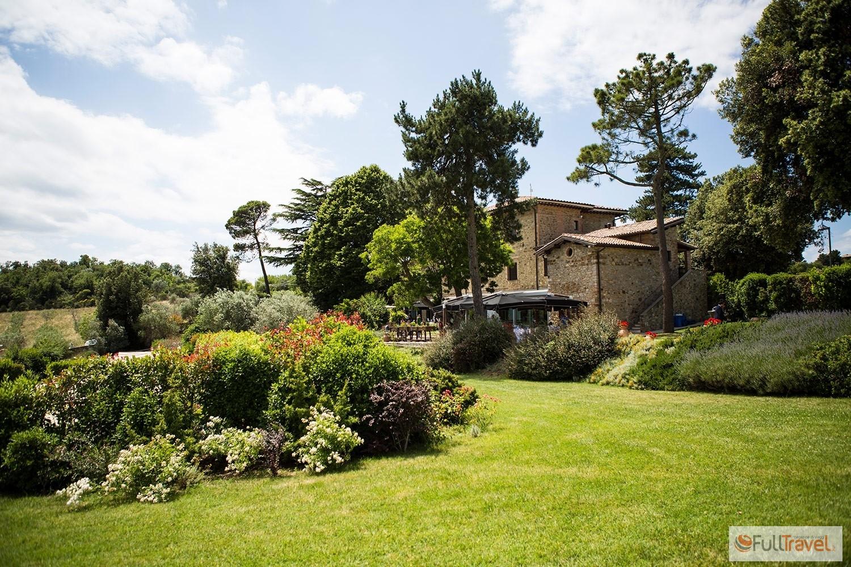Griffins Resort, il giardino