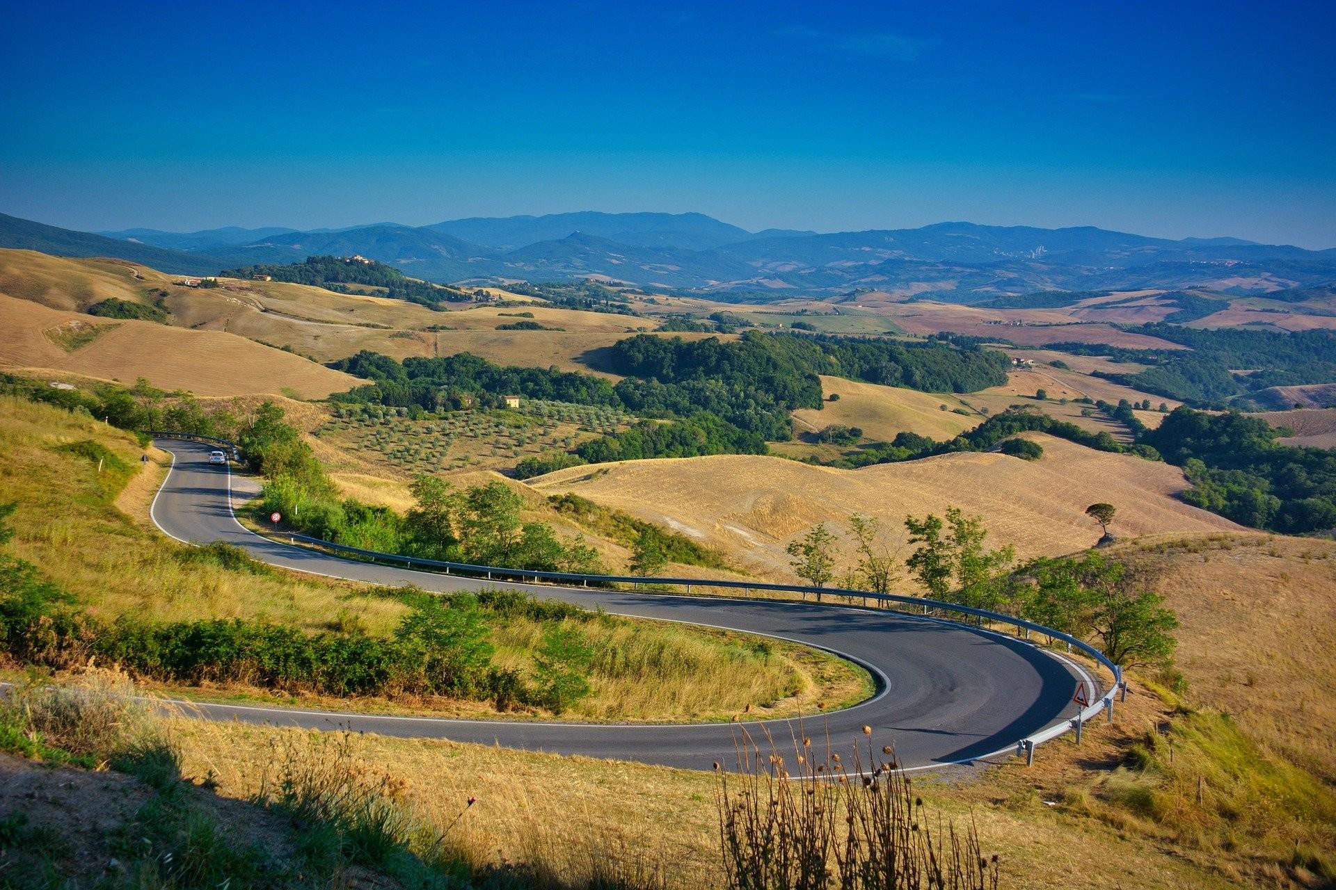 Paesaggio della Toscana - Foto di Rudi Maes
