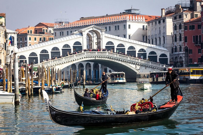 Canal Grande e Ponte di Rialto, Venezia - Foto di Ruth Archer