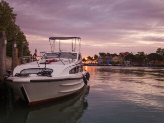 Le Boat Caprice houseboat a Mazzorbo