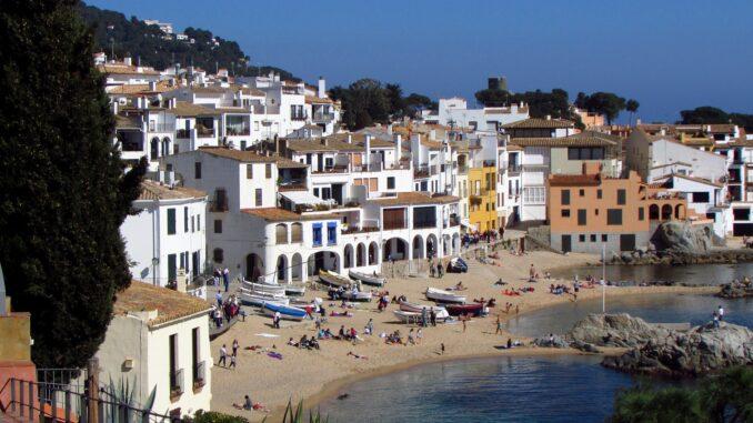Calella De Palafrugell, Costa Brava in Catalogna, Spagna - Foto di Zsanett Herczegh