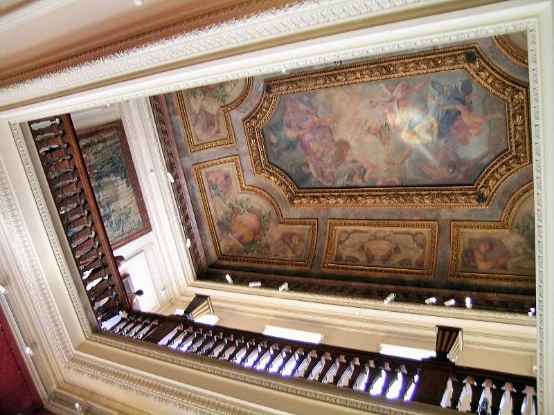 Il soffitto della sala della musica ©Foto Maria Ilaria Mura/FullTravel.it