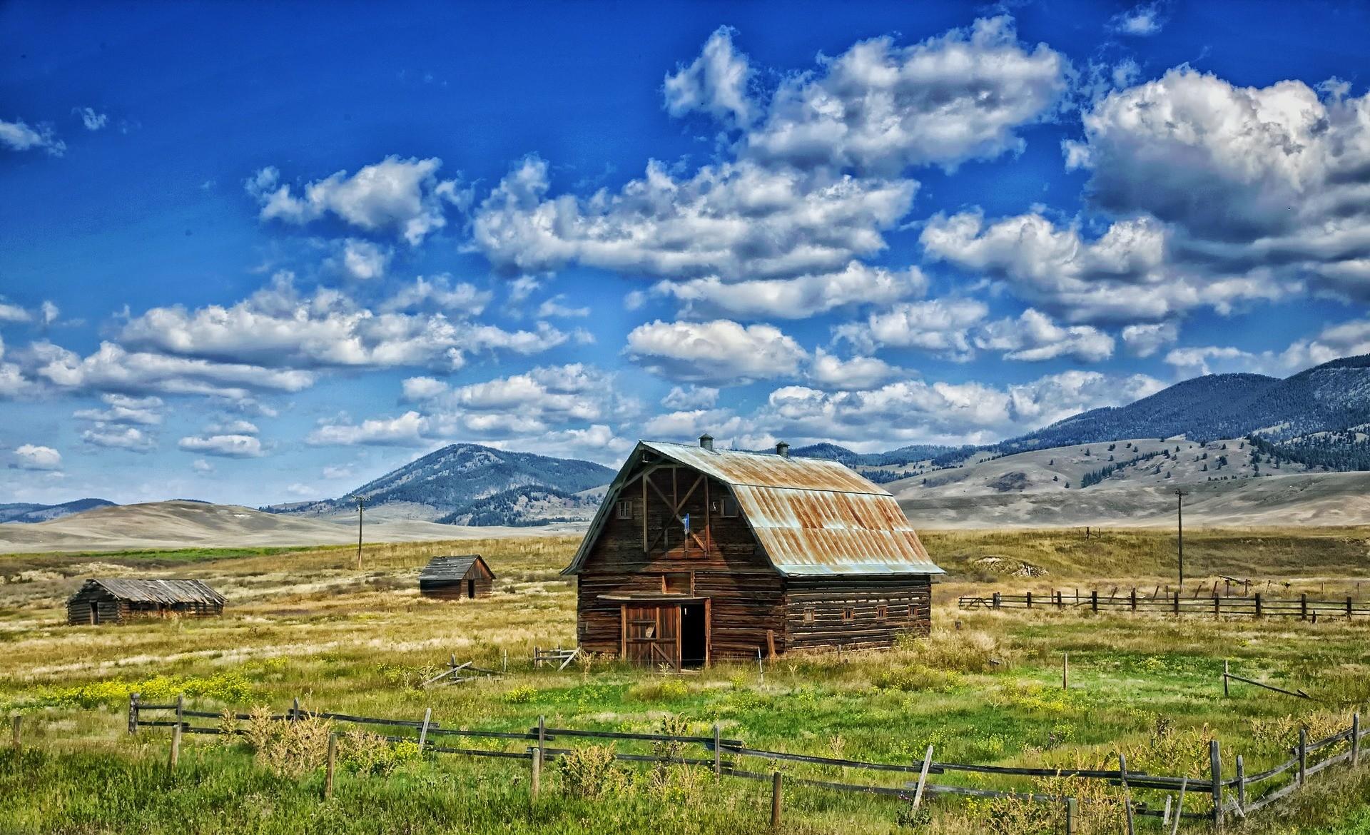 Paesaggio del Montana - Foto di David Mark