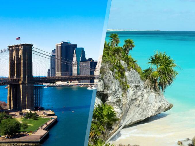 Stati Uniti e Messico: New York e Riviera Maya