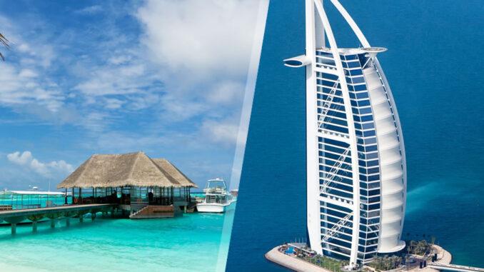 Emirati Arabi e Isole dell'Oceano Indiano: Dubai e Maldive