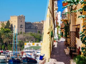 Grecia: Rodi e Creta in aereo