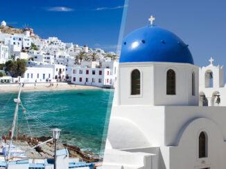 Grecia: Mykonos e Santorini in aereo