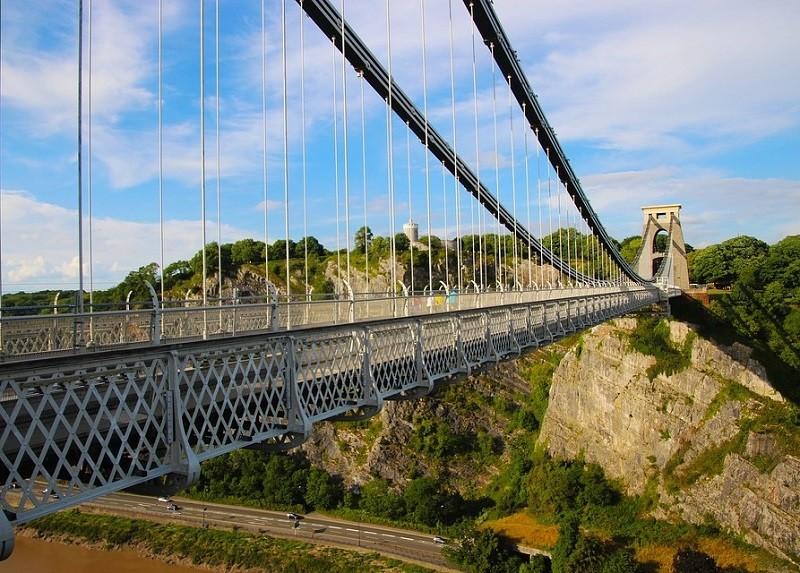 Il ponte sospeso di Clifton, Bristol - Foto di Dean Moriarty