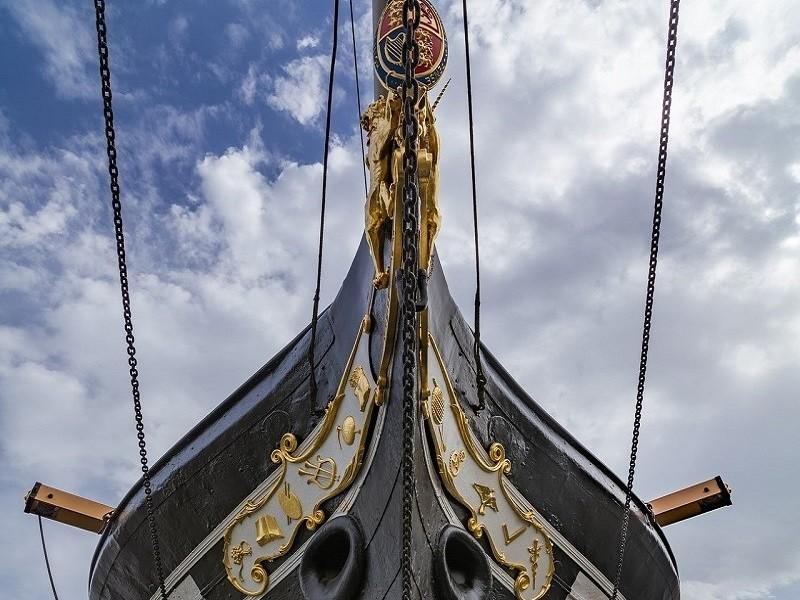 La prua della Great Britain, Bristol - Foto di Ian Kelsall