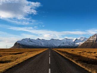 Percorso dell'Anello Islandese