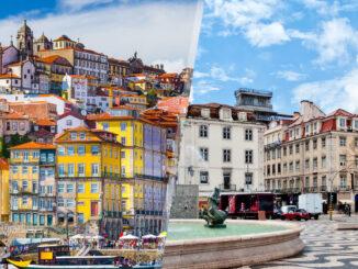 Portogallo: Porto e Lisbona in aereo