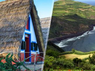 Portogallo (Madeira e Azzorre): Madeira e São Miguel in aereo