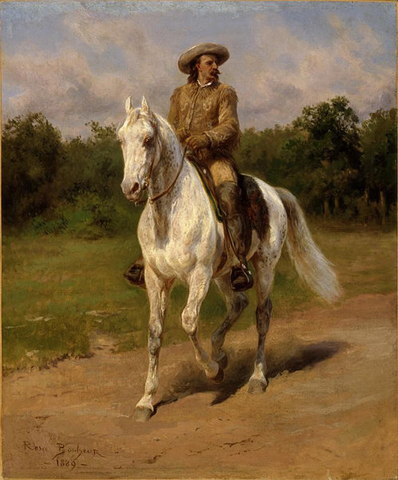 Rosa Bonheur - Portrait de Col. William F., Cody