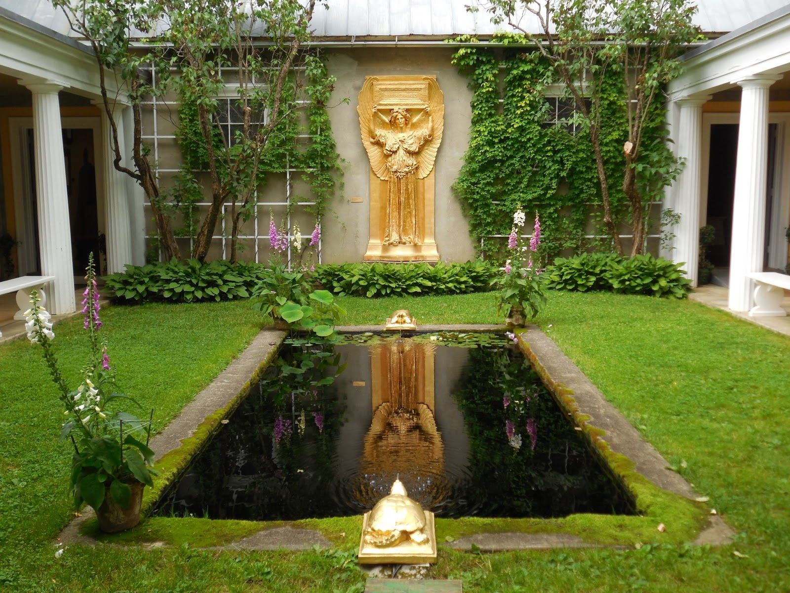 Saint Gaudens Gardens