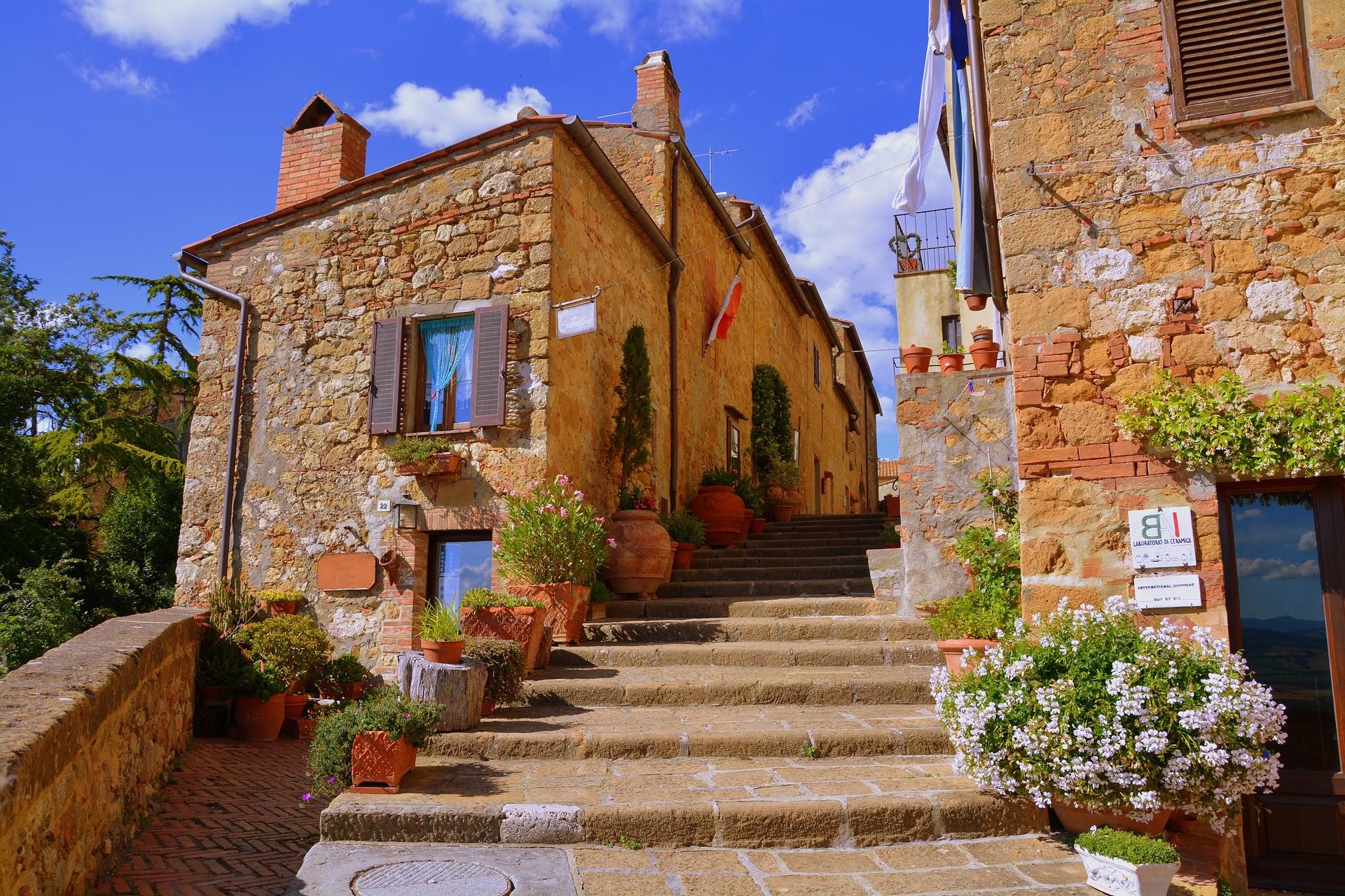 Centro storico di Pienza - Foto di Gianni Crestani