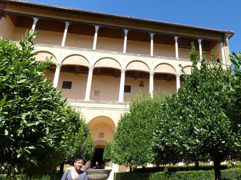 Il giardino di Palazzo Piccolomini - Foto di Christos Costantinou