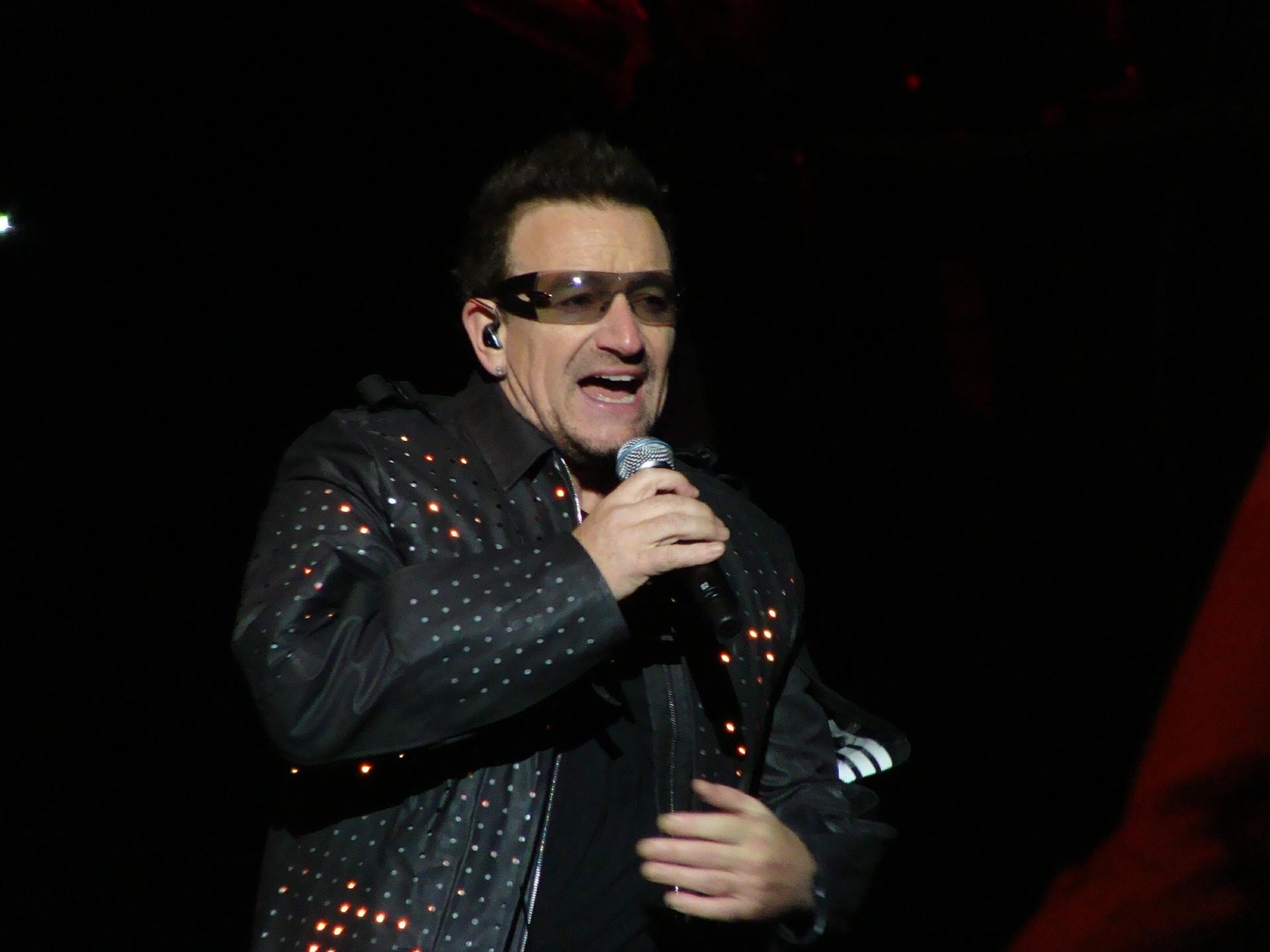 Bono degli U2 - Foto di Todd Poirier