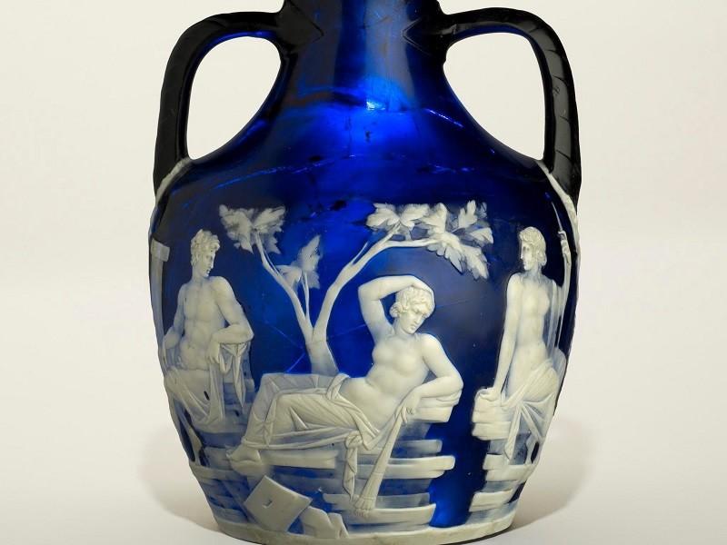 Il Portland Vase ©Foto The Trustees of the British Museum