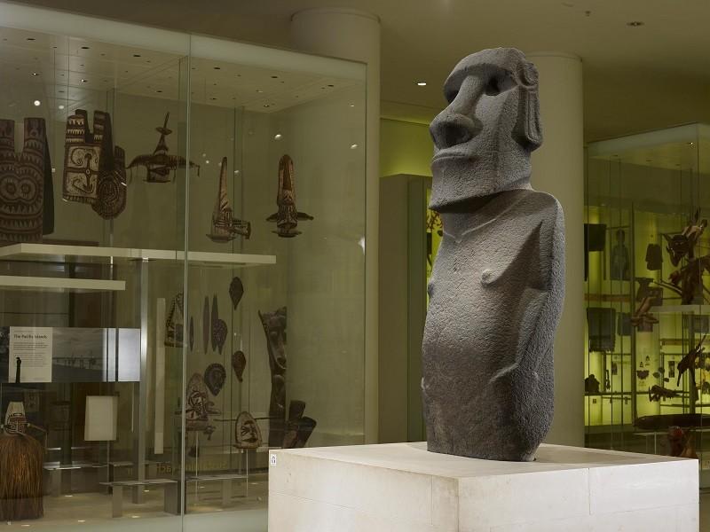 La statua dall'Isola di Pasqua -©Foto The Trustees of the British Museum