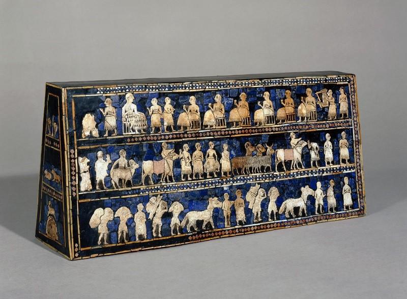 Lo stendardo di Ur -©Foto The Trustees of the British Museum