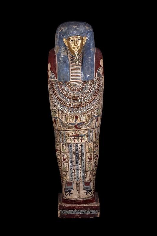 Sarcofago egiziano di età tolemaica ©Foto The Trustees of the British Museum