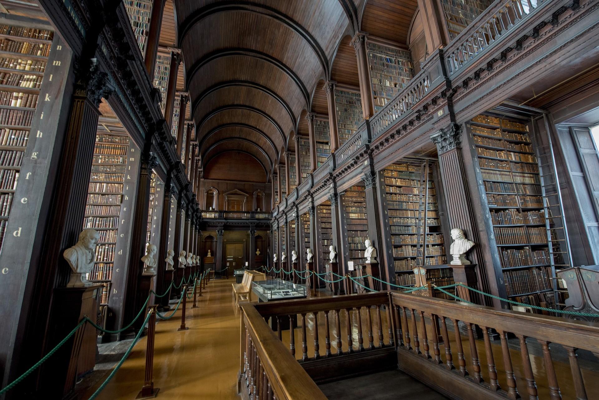 Trinity College, Dublino - Foto di Albert van den Boomen