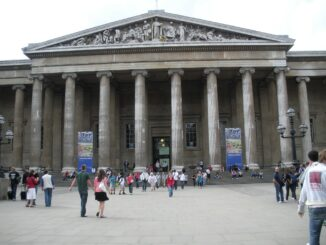 British Museum Londra: l'ingresso - Foto di Jewels