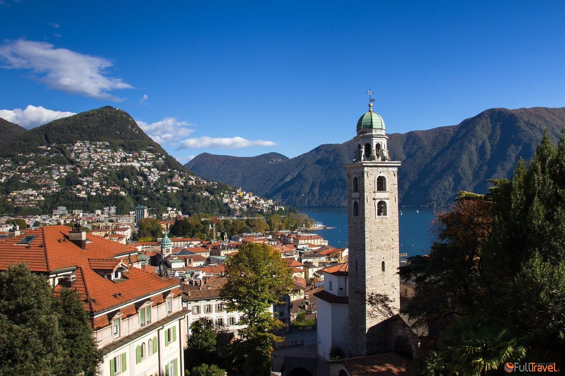 Lugano, Monte Bre - Foto di adege