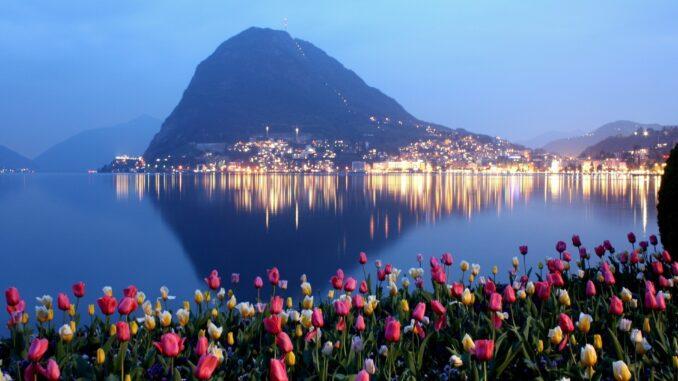 Lugano e lago - Foto di Santiago Imperatrice
